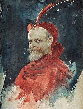 """710. Anders Zorn, """"Mefisto (Consul Dahlander)""""."""