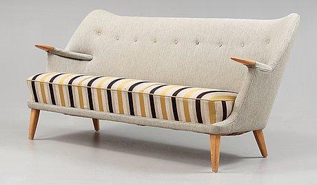 A kurt østervig upholstered sofa, rolschau møbler, denmark post 1953.