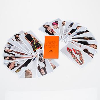 """KNOTTING CARDS, """"Cartes À Nouer"""", Hermès."""