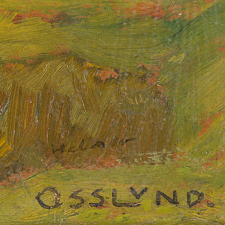 "Helmer osslund, ""regnbyn drar förbi"" (rainy skies)."