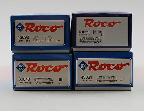 Samling modelltåg, 4 delar, roco, österrike.