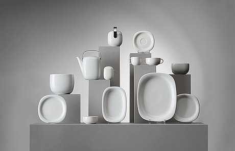 "Timo sarpaneva, mat-och kaffeservis 116 delar, ""suomi"", rosenthal studio-linie."