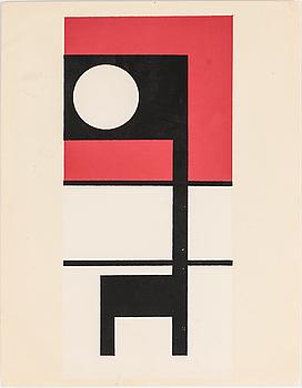OTTO G CARLSUND (efter), färgserigrafi.