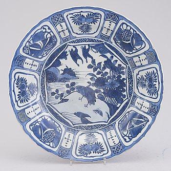 WANLI FAT, porslin, Kina, Ming dynastin 1572-1620.