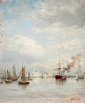 4A. OSCAR KLEINEH, HARBOUR VIEW.