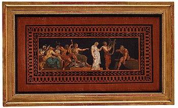 """1017. Louis Masreliez, """"Orfeus och Eurydice""""."""