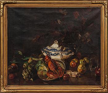 AXEL PETER (SVERIGE), oljemålning, signerad och daterad.
