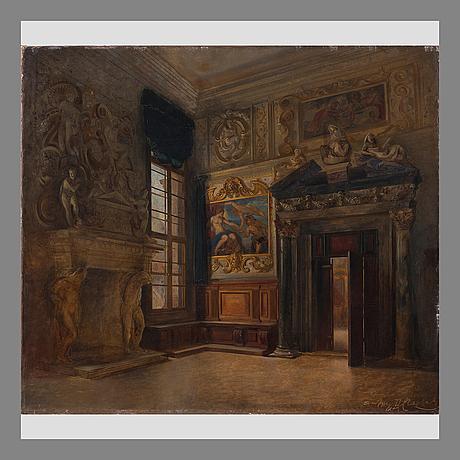 Vladimir svertchkoff, interiÖr frÅn palats i venedig