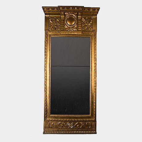 Spegel, av eric wahlberg (mästare i stockholm 1788-1811). sengustaviansk.