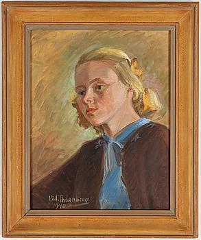 RUDOLF THORNBERG, olja på duk, signerad och daterad 1940.