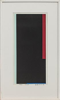 OLLE BAERTLING, färgserigrafi, signerad, numrerad  277/300 och daterad 1951-68.