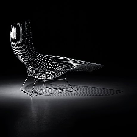 A Harry Bertoia Asymmetric Chaise Knoll International