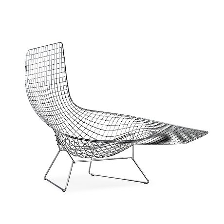 A Harry Bertoia Asymmetric Chaise Knoll International Bukowskis