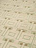 Carpet. knotted pile in relief. 182 x 103,5 cm. 1930's-1950's.
