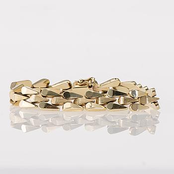 ARMKED, 14K guld. Vikt ca 16,4 g.