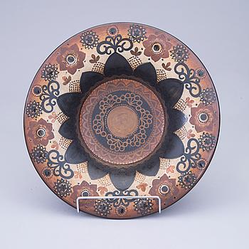 FAT, keramik, Hilkka-Liisa Ahola, signerad HLA/LP, Arabia.