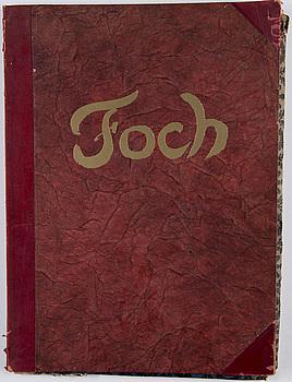 NÖEL DORVILLE, efter, 10 st etsningar, en del signerade och daterade i plåten. 1920-tal.