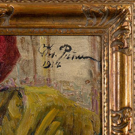 Ilja repin, portrÄtt av isaak brodskys syster