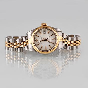 ARMBANDSUR, dam, Rolex, Oyster Perpetual Datejust, Chronometer, 1980-tal.