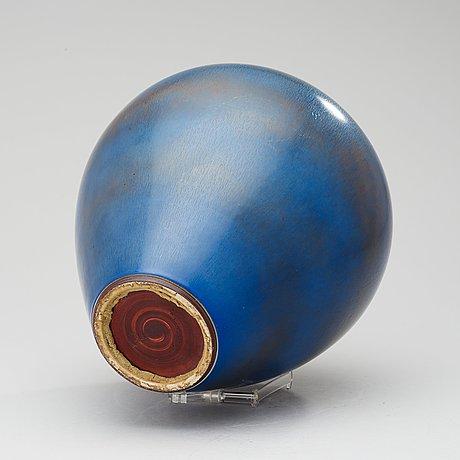 A berndt friberg stoneware vase, gustavsberg studio 1954.
