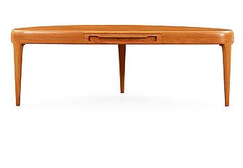 10. A Johannes Andersen teak sofa table, Sweden 1950's-60's.