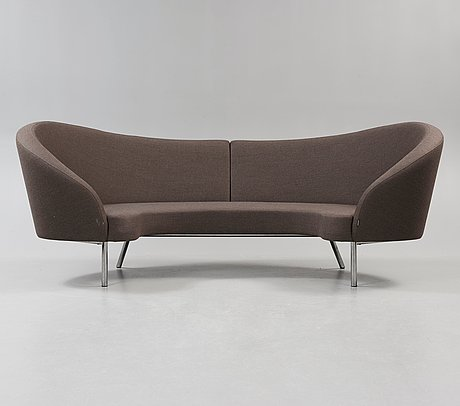 "Karim rashid, soffa med fotpall ""orgy"", offecct 2009."