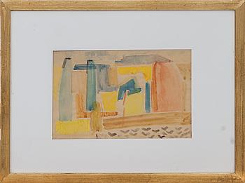 TORSTEN RENQVIST, akvarell, monogramsignerad och daterad -48.