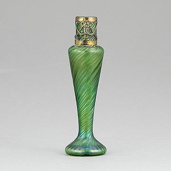 VAS, glas, Lötz-liknande, jugend, tidigt 1900-tal.