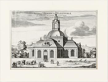 GRAVYR, Erik Dahlberg - J. van der Aveelen,  Stockholm, ca 1703.