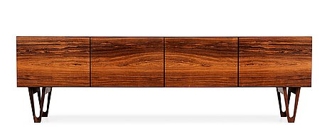 An ib kofod larsen palisander sideboard, säffle möbelfabrik 1960's.
