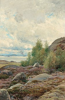1006. Berndt Lindholm, In the archipelago.