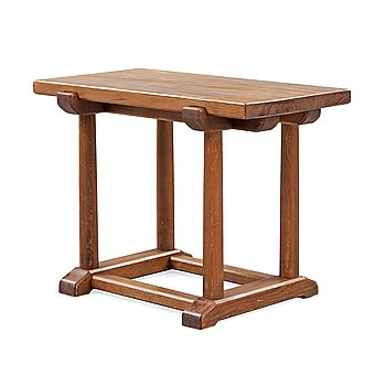 501. An Axel Einar Hjorth stained pine 'Sandhamn' side table, Nordiska Kompaniet ca 1929.
