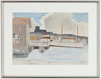 EINAR JOLIN, EINAR JOLIN, gouache, signerad och daterad 23 augusti 1931.