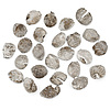 Mynt, ca 25 st, sk droppkopek, silver, ryssland 1600-tal. vikt ca 18 g.
