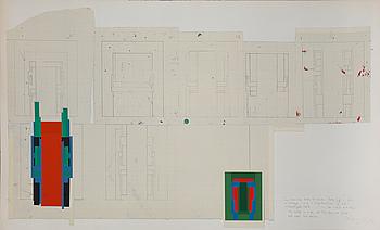 ALEXANDER HOLLWEG och ROBYN DENNY, grafiska blad, signerade och numrerade 86/100.