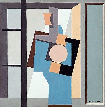 """11. Erik Olson, """"Blå figur""""."""
