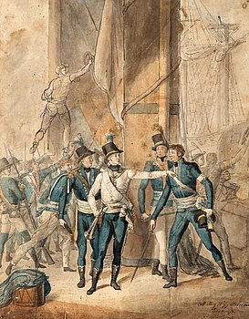 1125. Per Krafft d.y., Hertig Karl (XIII) i slaget vid Hogland.