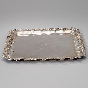BRICKA, silver, Hopeakeskus, Tavastehus 1949. Vikt ca 1182 g.