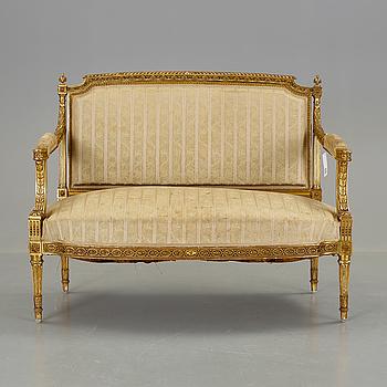 SOFFA, Louis XVI-stil, 1900-tal.