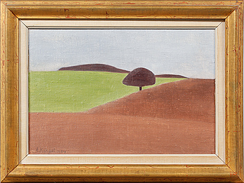 AXEL KARGEL, olja på duk, signerad och daterad 1954.