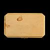 Brosch, fabergé, st. petersburg. guld och gammalslipade diamanter. original etui.