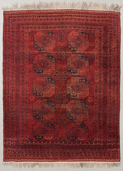MATTA, old/semiantik, Afghan, ca 270 x 200 cm.