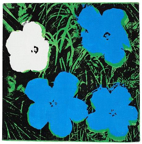 "Andy warhol, ""flowers""."