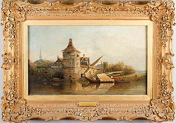 RICHARD PARKS BONINGTON, olja på duk, signerad och daterad 1827.