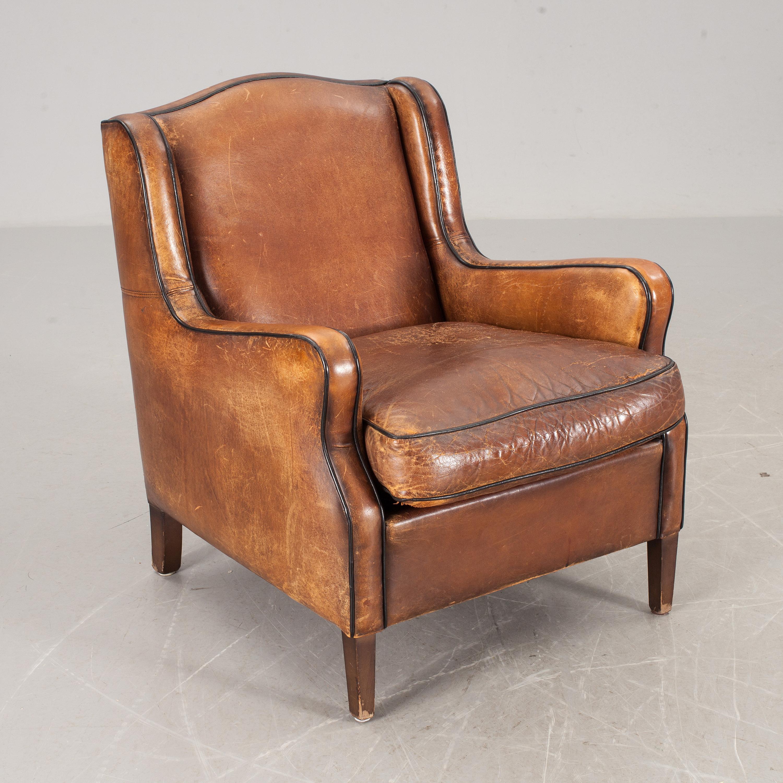 FåTÖLJ, engelsk stil, 1900 talets sista fjärdedel Bukowskis