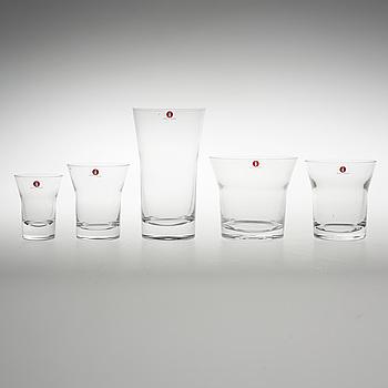 GLASSERVIS, 60 delar, Alvar Aalto, Iittala.