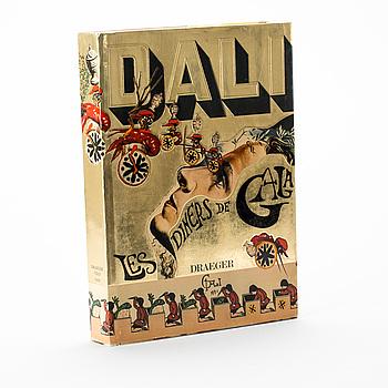 """BOK, """"Les Diners de Gala"""", Salvador Dalí. Draegers, Paris, 1973."""