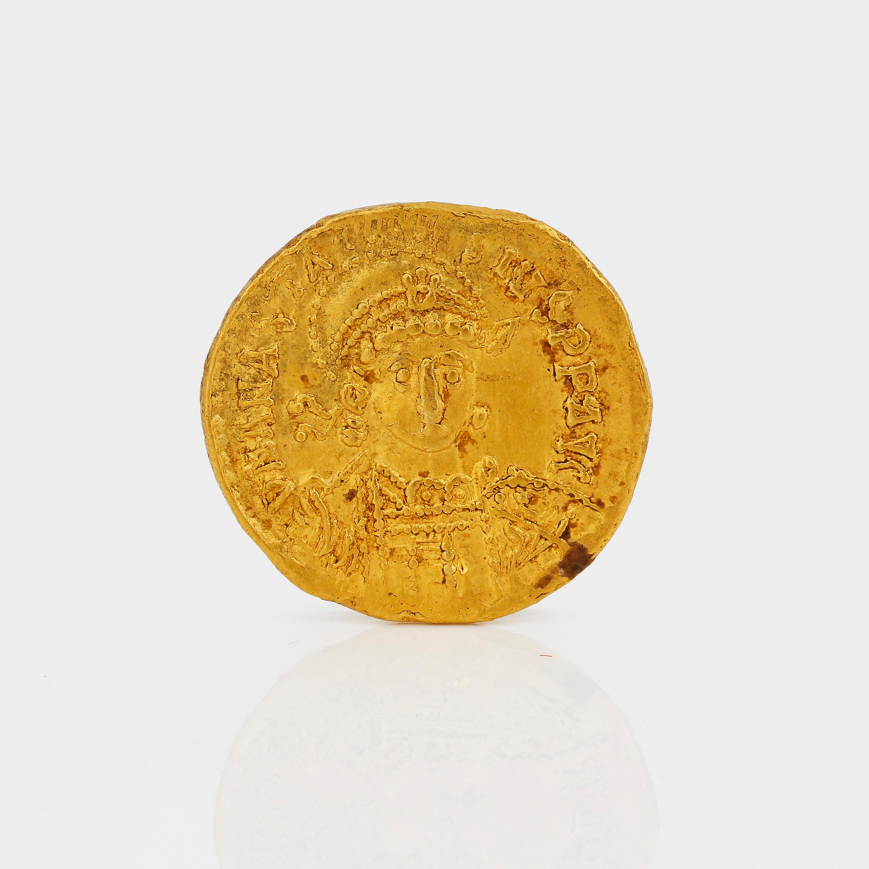 GULDMYNT, Solidus, Anastasius, Konstantinopel 491-518 efter