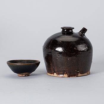 KENDI, samt TEMMOKU, Kina  Song dynastin (960-1279).
