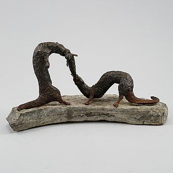 OLLE FESTIN, skulptur, signerad och daterad 1971.